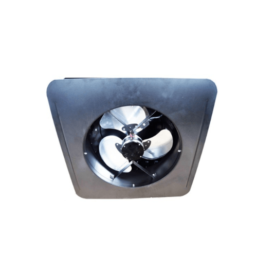 EILON พัดลมระบายอากาศโซล่าเซลล์ติดหลังคา 15W  (Round Housing Cap)   SN2013009R สีดำ