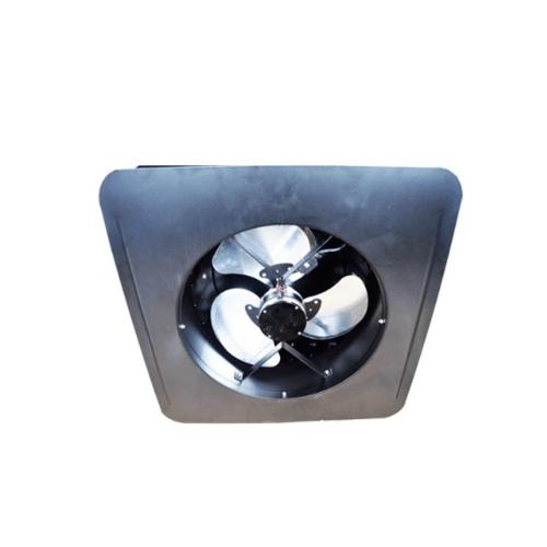 EILON พัดลมระบายอากาศโซล่าเซลล์ติดหลังคา 18W (Round Housing Cap)   SN2013010R สีดำ