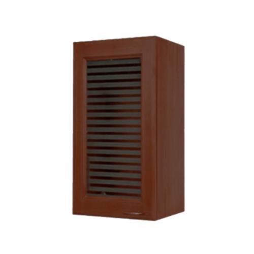 MJ ตู้แขวนบานทึบตรง  สีโอ๊ค W804-O