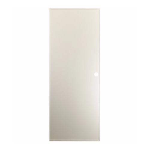- ประตูบานทึบพีวีซี  ขนาด 70x180 ซม. พร้อมวงกบ   P1 สีครีม