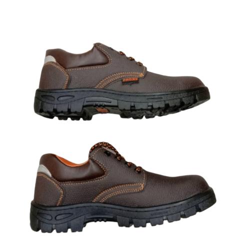 Protx รองเท้าเซฟตี้ พื้นเหล็ก เบอร์ 43  PT102 สีน้ำตาลเข้ม