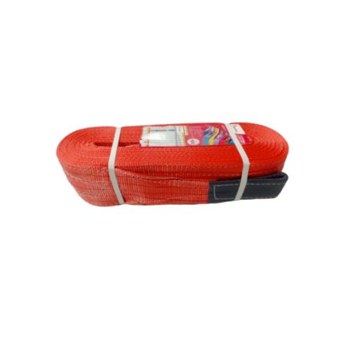 HUMMER สลิงผ้าใบแบบ มีห่วง  JB125-5TX10M สีแดง