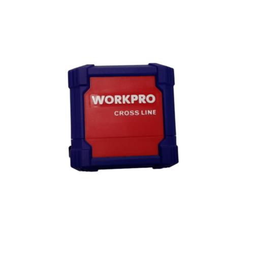 WORKPRO เครื่องเลเซอร์วัดระยะ  (เส้นกากบาท / 30ม.) W068008 สีน้ำเงิน