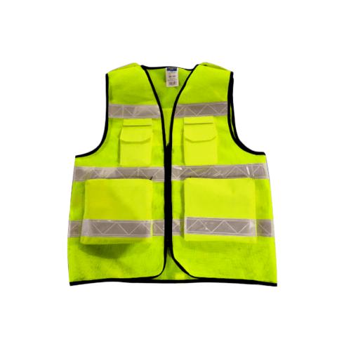Protx เสื้อจราจรสะท้อนแสง ขนาด XXL    W0042-HBXXL  สีเหลือง
