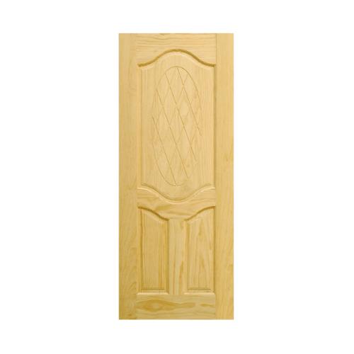 D2D ประตูไม้สนนิวซีแลนด์ ขนาด 90x220 ซม. 302 สีน้ำตาลอ่อน