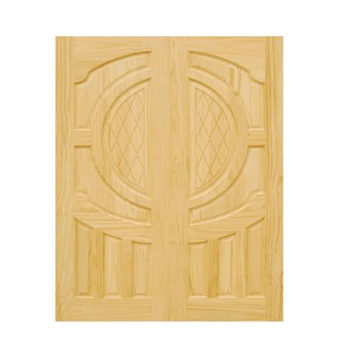 D2D ประตูไม้สนนิวซีแลนด์ ขนาด 90x220 ซม. 304