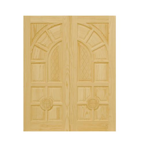 D2D ประตูไม้สนนิวซีแลนด์ ขนาด90x220 ซม. 305
