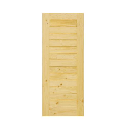 D2D ประตูไม้สนนิวซีแลนด์ ขนาด 80x200 ซม. D2D-103