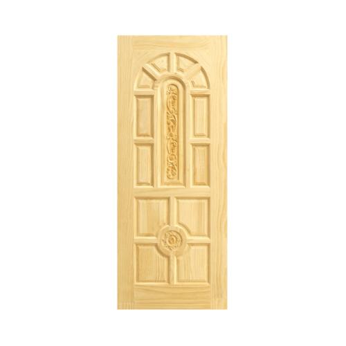 D2D ประตูไม้สนนิวซีแลนด์ ขนาด 80x200 ซม. Eco Pine - 004 น้ำตาลอ่อน
