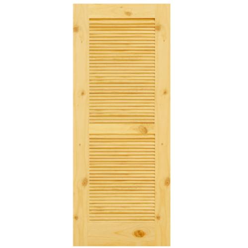 D2D ประตูไม้สนนิวซีแลนด์ ขนาด 70x200 ซม. Eco Pine - 020