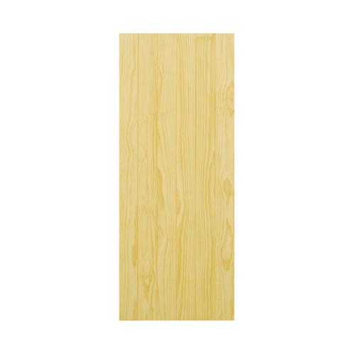 D2D ประตูไม้สนนิวซีแลนด์ ขนาด  90x220 ซม. D2D-503