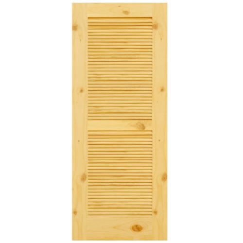 D2D ประตูไม้สนนิวซีแลนด์ ขนาด 80x200 ซม. Eco Pine-020