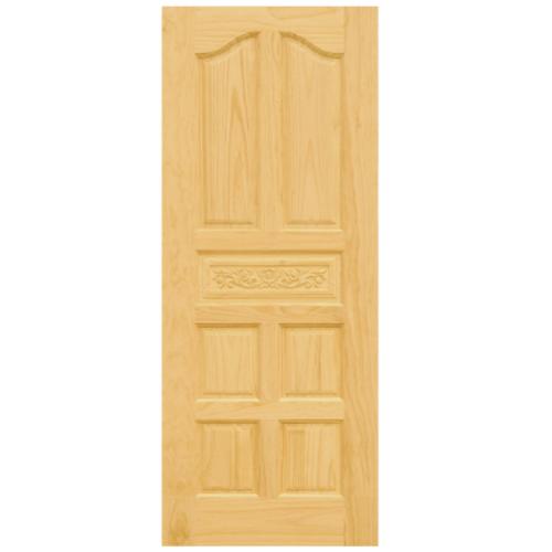 D2D ประตูไม้สนนิวซีแลนด์ 90x200 ซม. Eco Pine - 010 สีน้ำตาลอ่อน