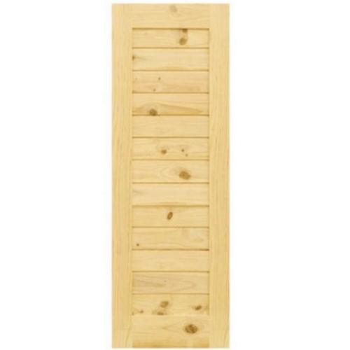 D2D ประตูไม้สนนิวซีแลนด์ ขนาด 70x200 ซม. Eco Pine - 001