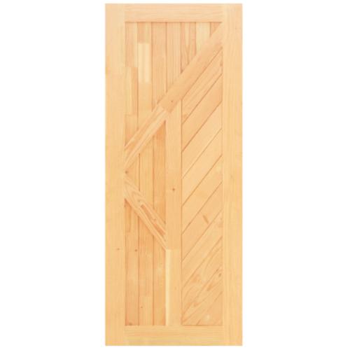 D2D ประตูไม้ดักลาสเฟอร์  ขนาด 90x200 ซม. Eco Pine - 026