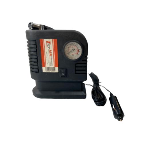 TUF ปั๊มลมไฟฟ้าแบบพกพาสำหรับรถยนต์ 250/300 PSI FY-302 สีดำ