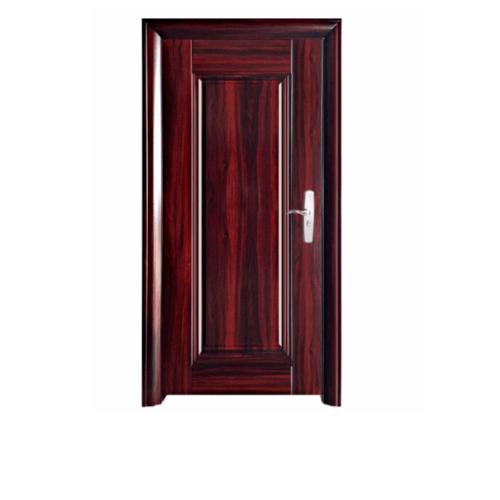 WELLINGTAN ชุดประตูเหล็กพร้อมวงกบ เปิดซ้าย เปิดออก ขนาด106x212x13ซม. หนา0.82รุ่น Hkai-C2L-out Hkai-C2L-out คละสี