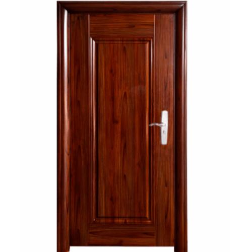 Wellingtan ชุดประตูเหล็กพร้อมวงกบ เปิดซ้าย เปิดเข้า ขนาด106x212x13ซม. หนา0.82 Hkai-C3L-in