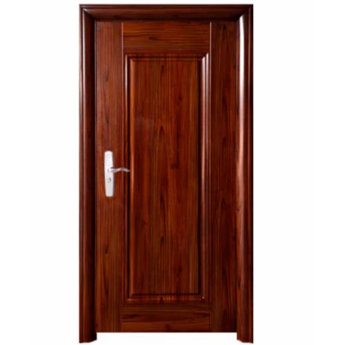 Wellingtan ชุดประตูเหล็กพร้อมวงกบ เปิดขวา เปิดออก ขนาด106x212x13ซม. หนา0.82  Hkai-C3R-out