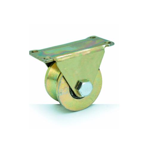 HUMMER ล้อฉากพร้อมขายึดประตู ขนาด 2.1/2 นิ้ว SGWV50 ทองแดง