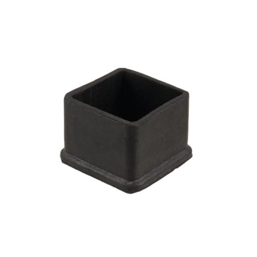 S.S.P. ยางขาโต๊ะเหลี่ยมโปร่ง สวมนอก (1ชิ้น/แพ็ค) 2.1/2 นิ้ว สีดำ