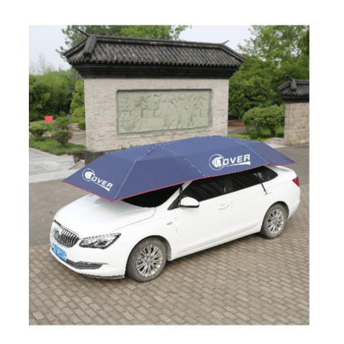 Cover ร่มรถยนต์ Semi-Auto ขนาด 2.1X4m CAUM-01 สีน้ำเงิน