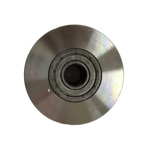 HUMMER ล้อสเตนเลส 304 ร่องกลม 2.1/2 ssw 304-635 สีโครเมี่ยม