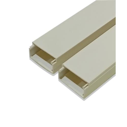 VEG รางทรังกิ้ง 25×12มม. สีขาว