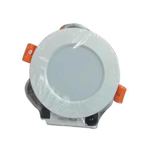 SYLLA ดาวน์ไลท์ฝังฝ้า  แบบกลม Φ115 mm  12W Die-casting ultra-thin