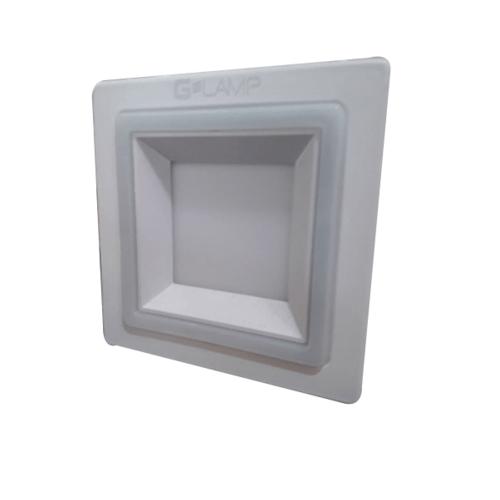 G-LAMP ดาวน์ไลท์ LED (panel) เหลี่ยม  4W6500K+3Wblue สีขาว