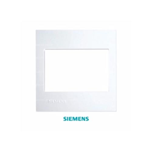 SIEMENS ฝา 3ช่อง DELTA azio ขนาด 120 มม. สีขาว 5TG9 860-7PB01 ขาว