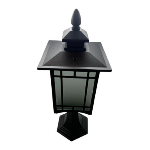 V.E.G โคมไฟหัวเสา MV004-S สีดำ