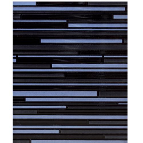 Sosuco 8x10 กระเบื้องบุผนัง-เชื่อมเงิน  ผิวมัน  (GlOSSY) A. สีดำ