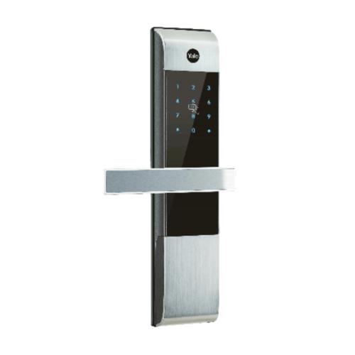 YALE ชุดล็อคประตูอัตโนมัติ มือจับฝังในบาน ปุ่มจอสัมผัส YDM 3109 (Silver)