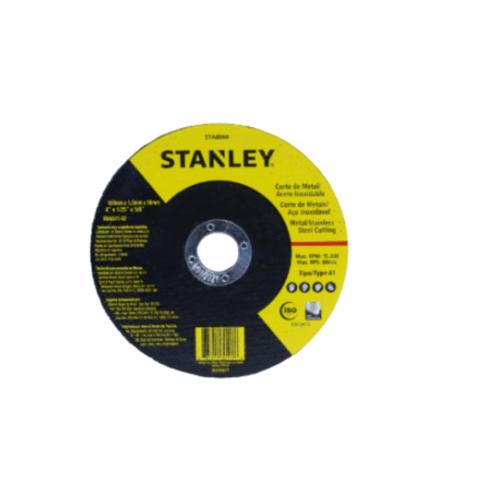 STANLEY ใบไฟเบอร์ตัดเหล็ก 4 นิ้ว 105x1.0x16 มม.  STA8060SUT STANLEY สีดำ
