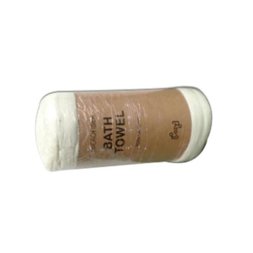 COZY ผ้าเช็ดตัวไมโครไฟเบอร์ 70x140 ซม MFT-70140W สีขาว