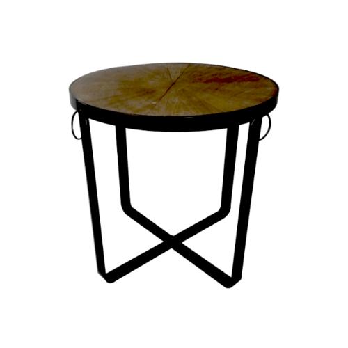 Delicato โต๊ะกาแฟ  ขนาด 53.5x53.5x50ซม. สีบรอนซ์ CY17430-L