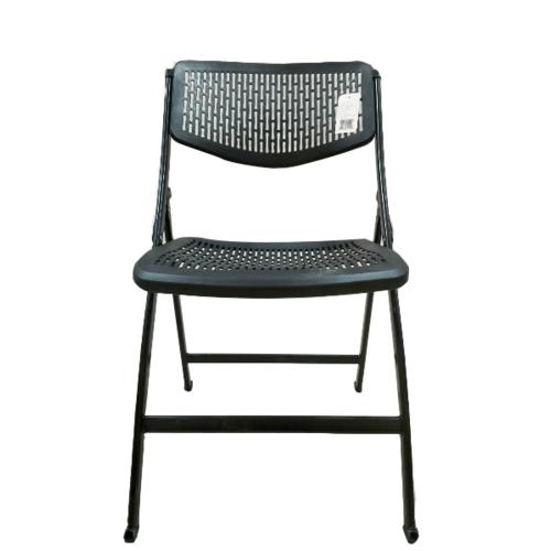 Pulito เก้าอี้แบบพับ GGW012-BK  สีดำ