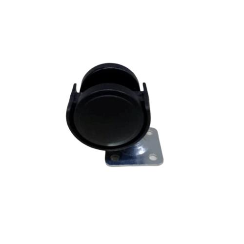 KAMPER ล้อแป้น Black Nylon TWP-40 สีดำ
