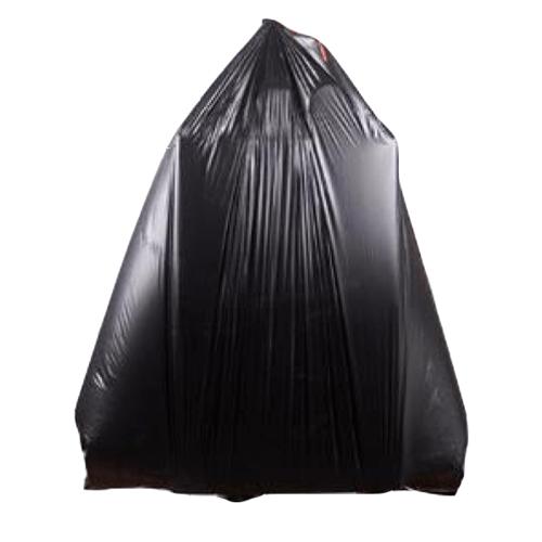 "ICLEAN ถุงขยะ Iclean  มีหู หนาพิเศษ ขนาด 30""x40"" บราจุ 10 ใบ/แพ็ค DZH004-BK สีดำ"