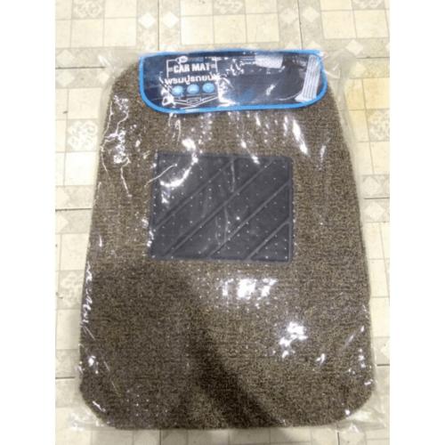 Cover พรมดักฝุ่นรถยนต์ 5ชิ้น สีเบจ-น้ำตาล CMSB40BGBR5 สีเบจ