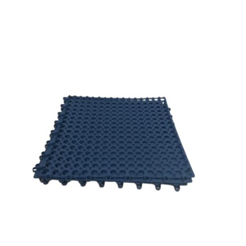 GRAFFE พรมกันลื่นพีวีซี ขนาด 30x30ซม.หนา 10มม. (4ชิ้น/แพ็ค) PFM3030WH สีน้ำเงิน