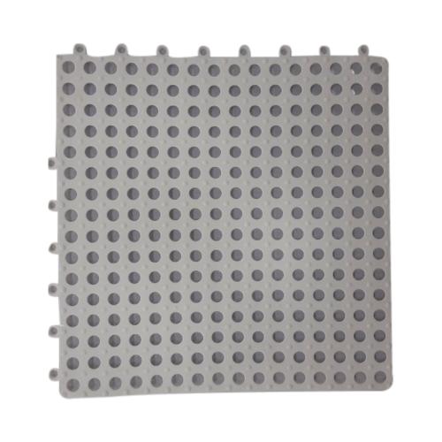 GRAFFE พรมกันลื่นพีวีซี ขนาด 30x30ซม.หนา10มม. RFM3030WH (4ชิ้น/แพ็ค) สีขาว
