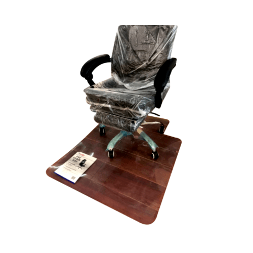 SMITH แผ่นยางกันรอย ขนาด 90x120 CM. หนา 4 mm เหมาะสำหรับปูพื้นรองรับล้อเก้าอี้สำนักงาน PCM90120H  สีใส