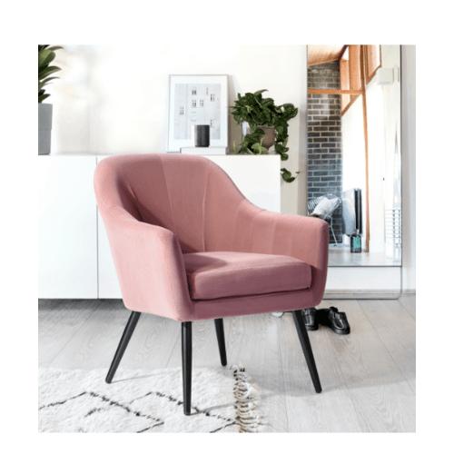 Pulito เก้าอี้พักผ่อน 69x70x81ซม.  Engle pink  สีชมพู