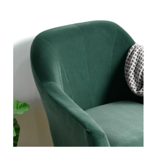 Pulito เก้าอี้พักผ่อน 69x70x81ซม.  Engle green สีเขียว