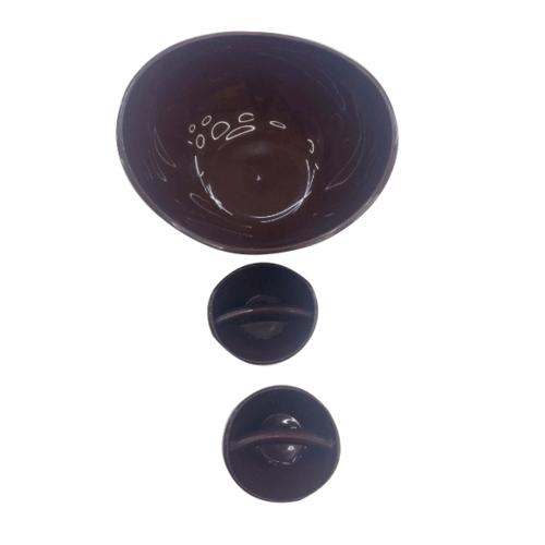 UCHI ชามสลัด  ขนาด 35*27*9.5 cm  ZZJ011-BN สีน้ำตาล