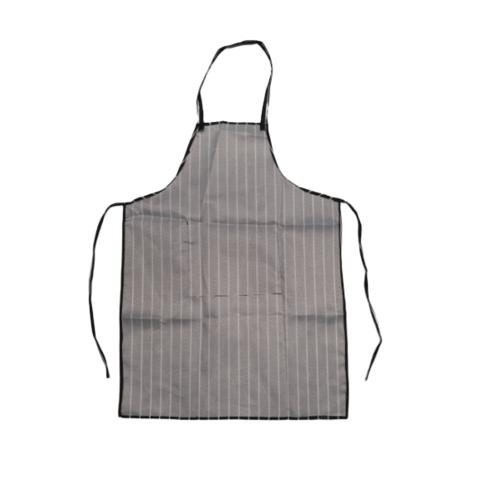 KATELL ผ้ากันเปื้อนลายตรง  XFX001 สีดำ-ขาว