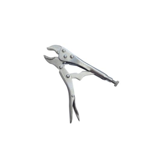 HUMMER คีมล็อคปากโค้ง ขนาด 7C JR-QZ051-S 7 สีโครเมี่ยม