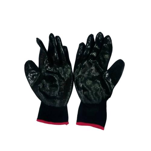 Pro-tx ถุงมือยาง  JR-DG10 10 นิ้ว สีดำ